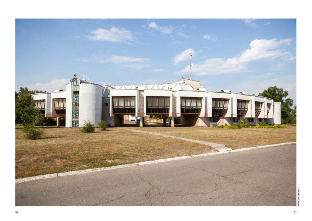 Ukraine, der Kulturpalast in Dnipropetrovsk